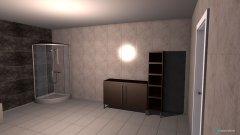Raumgestaltung Gäste WC-Bad in der Kategorie Badezimmer