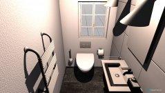 Raumgestaltung Gäste WC in der Kategorie Badezimmer