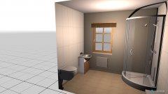 Raumgestaltung Gäste-WC in der Kategorie Badezimmer