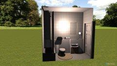 Raumgestaltung Gästebad EG in der Kategorie Badezimmer