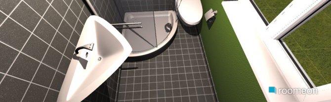 Raumgestaltung gästebad in der Kategorie Badezimmer