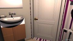 Raumgestaltung Gästewc in der Kategorie Badezimmer