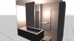 Raumgestaltung GQ Bad in der Kategorie Badezimmer