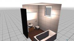 Raumgestaltung große wohnung in der Kategorie Badezimmer