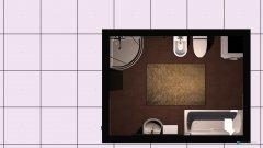 Raumgestaltung großes Badezimmer in der Kategorie Badezimmer