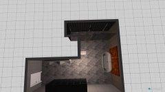 Raumgestaltung Grote badkamer in der Kategorie Badezimmer
