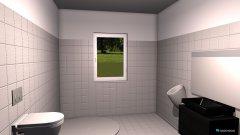 Raumgestaltung Grundrissvorlage Bad haie in der Kategorie Badezimmer