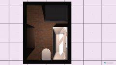 Raumgestaltung Grundrissvorlage Bad in der Kategorie Badezimmer
