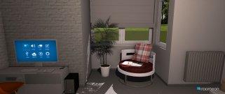 Raumgestaltung Grundrissvorlage Erker in der Kategorie Badezimmer
