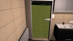 Raumgestaltung Grundrissvorlage L-Form in der Kategorie Badezimmer