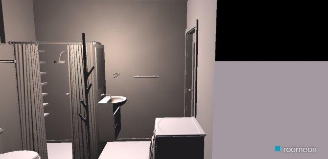 Raumgestaltung Grundrissvorlage Quadrat 009 in der Kategorie Badezimmer