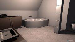 Raumgestaltung Guttenberstaße Bad Dg in der Kategorie Badezimmer