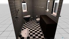 Raumgestaltung H2O Badezimmer in der Kategorie Badezimmer