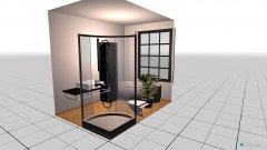 Raumgestaltung Hauptbad in der Kategorie Badezimmer