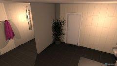 Raumgestaltung Haus - Raum 4 - Bad in der Kategorie Badezimmer