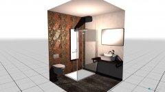 Raumgestaltung Hotel LowBuget in der Kategorie Badezimmer