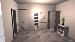 Raumgestaltung Iulian Bad1 in der Kategorie Badezimmer