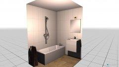 Raumgestaltung Jerevanská koupelna a WC in der Kategorie Badezimmer