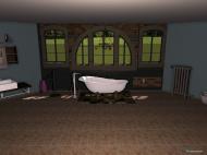 Raumgestaltung Jungle in der Kategorie Badezimmer