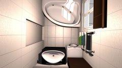 Raumgestaltung Kavender2 in der Kategorie Badezimmer