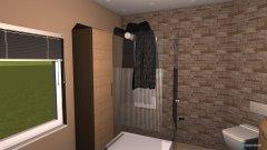 Raumgestaltung Klein aber fein in der Kategorie Badezimmer