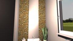 Raumgestaltung Kleines Bad unten in der Kategorie Badezimmer