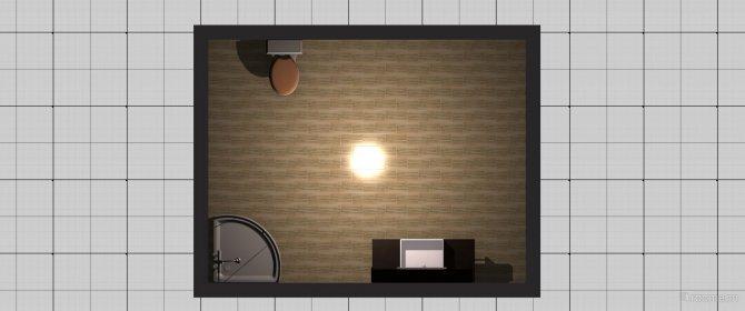 Raumgestaltung kleines bad in der Kategorie Badezimmer