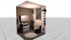 Raumgestaltung klo in der Kategorie Badezimmer