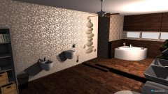 Raumgestaltung koupelna in der Kategorie Badezimmer