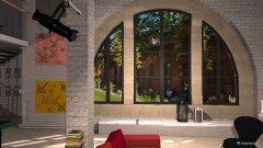 Raumgestaltung Kreatives Stadtloft in der Kategorie Badezimmer