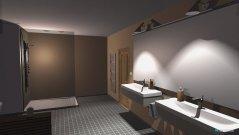 Raumgestaltung Kunst ying Yang in der Kategorie Badezimmer