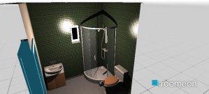 Raumgestaltung kupatilo in der Kategorie Badezimmer