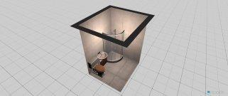 Raumgestaltung kupatlio in der Kategorie Badezimmer