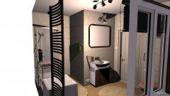 Raumgestaltung lazienka i pralnia in der Kategorie Badezimmer