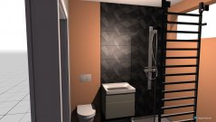 Raumgestaltung lazienka in der Kategorie Badezimmer