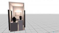 Raumgestaltung Leni Bad in der Kategorie Badezimmer