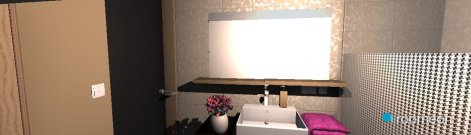 Raumgestaltung lilin in der Kategorie Badezimmer