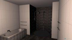 Raumgestaltung Loreen Badezimmer in der Kategorie Badezimmer