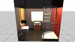 Raumgestaltung mała łazienka in der Kategorie Badezimmer