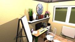 Raumgestaltung Margit Büro in der Kategorie Badezimmer