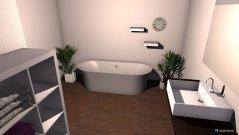 Raumgestaltung Markus und Regina in der Kategorie Badezimmer