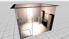 Raumgestaltung Marton Bad in der Kategorie Badezimmer