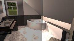 Raumgestaltung MasterBad in der Kategorie Badezimmer