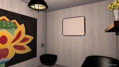 Raumgestaltung modernes Badezimmer 2 in der Kategorie Badezimmer
