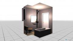 Raumgestaltung mohamed in der Kategorie Badezimmer