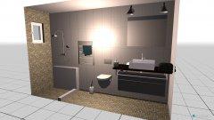 Raumgestaltung Mosaik Fliesen + WEISS in der Kategorie Badezimmer