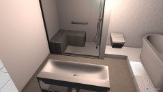 Raumgestaltung Mühlenbeck Gästebad 3 in der Kategorie Badezimmer