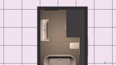 Raumgestaltung Mühlenbeck Gästebad 4 in der Kategorie Badezimmer