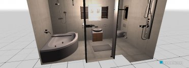 Raumgestaltung MyHome in der Kategorie Badezimmer