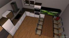 Raumgestaltung neue hütte in der Kategorie Badezimmer